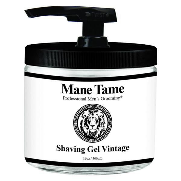 Mane Tame Vintage Shaving Gel 16oz