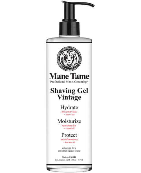 Mane Tame Vintage Shaving Gel 15.8oz