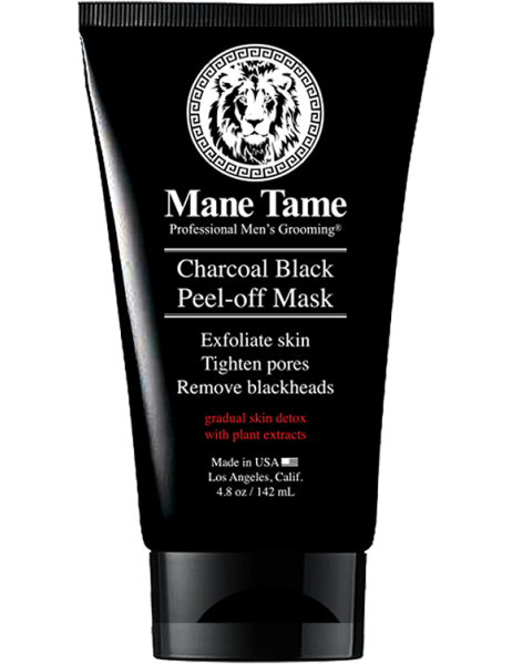 Mane Tame Charcoal Black Peel-off Mask 4.8oz