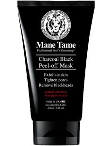 Mane Tame Charcoal Black Peel-off Mask 4.8oz