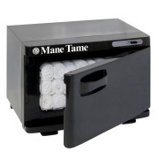 Mane Tame Mini Towel Warmer-Open_WithTowels