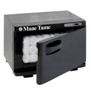 Mane Tame Mini Towel Warmer-Open_WithTowels