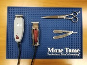 Barber Mat Dodger Blue – Showcase