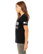 Mane Tame Womens Vneck Side