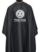 Mane Tame BarberStrong Cape Gunmetal Grey