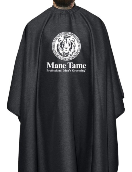 Mane Tame Barber Cape – Barber Strong Edition