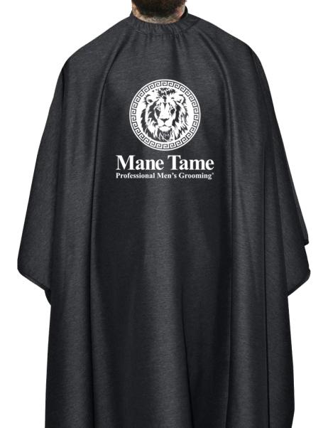 Mane Tame Barber Cape – Barber Strong Edition